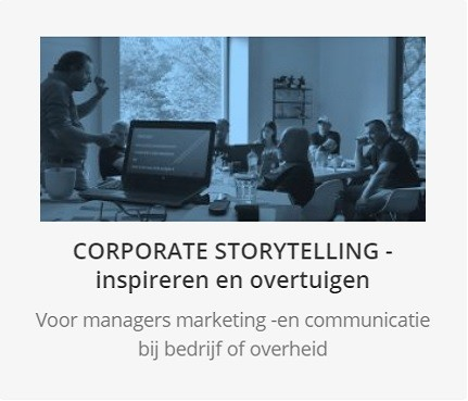 Masterclass Corporate Storytelling